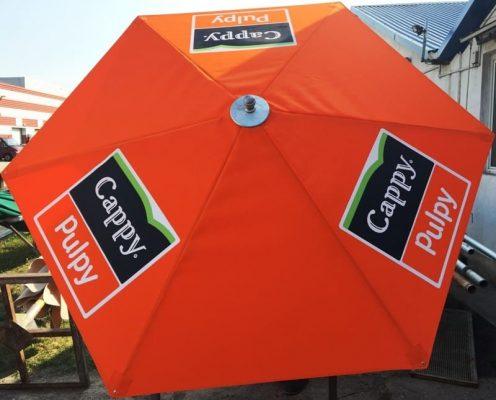 cappy hatszögű napernyő