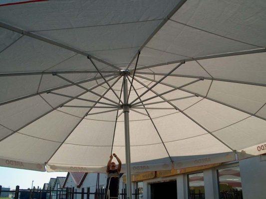 fehér góliát napernyő