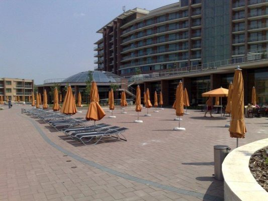 hotel strand sok napernyő