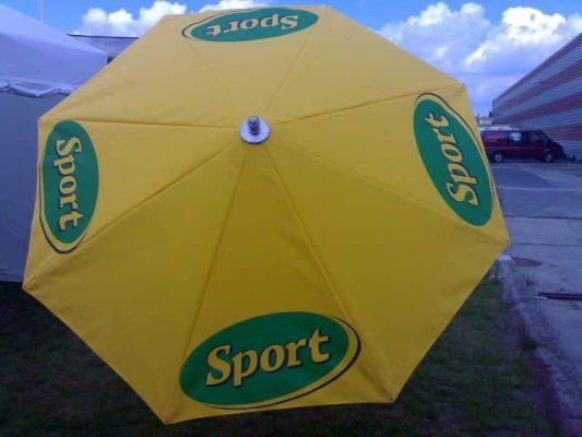 sárga sport napernyő