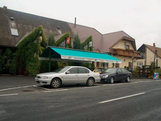 soproni kétoldali napellenző